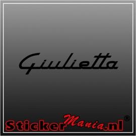 Alfa romeo giulietta sticker