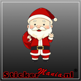 Kerstman Full Colour sticker