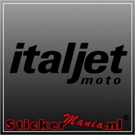 Italjet sticker