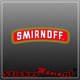 Smirnoff Full Colour sticker