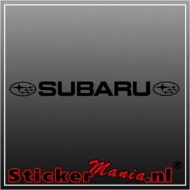 Subaru raamstreamer sticker