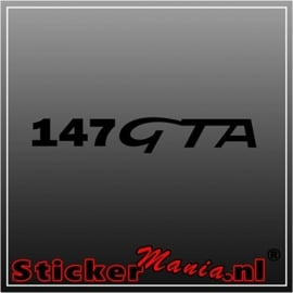 Alfa romeo 147GTA sticker