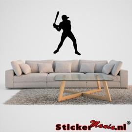Muursticker honkbal 1