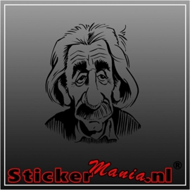 Einstein 2 sticker