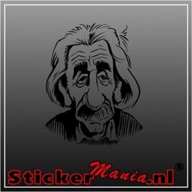 Einstein 2 sticker