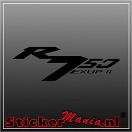 Yamaha R750 exup II sticker