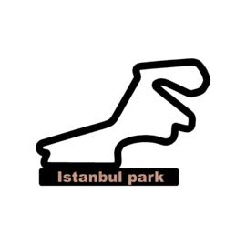 Istanbul park circuit op voet