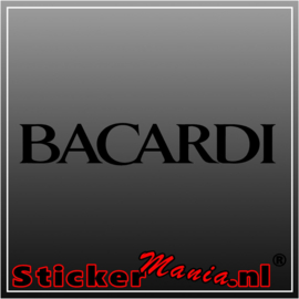 Bacardi 2 sticker