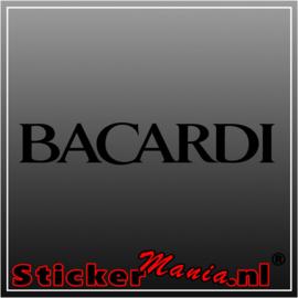 Bacardi 2 sticker