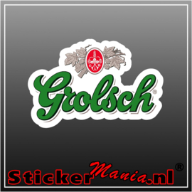 Grolsch full colour sticker