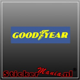 Goodyear Full Colour sticker