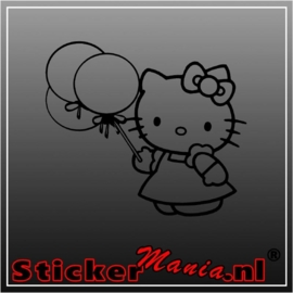 Hello kitty party sticker