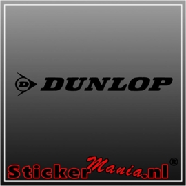 Dunlop sticker