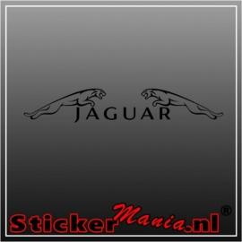 Jaguar raamstreamer sticker