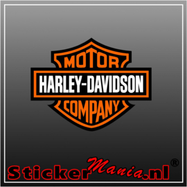 Harley davidson company Full Colour sticker