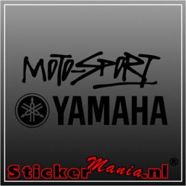 Yamaha moto-sport sticker