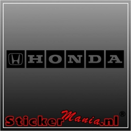 Honda 2 sticker
