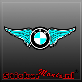 BMW wings full colour sticker