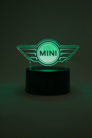 Mini logo led lamp