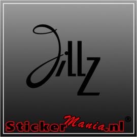 Jillz sticker