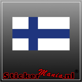 Finland Full Colour sticker