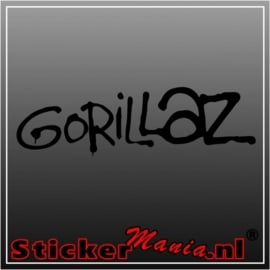 Gorillaz sticker