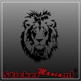 Leeuw 4 sticker