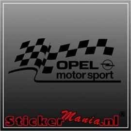 Opel motorsport sticker