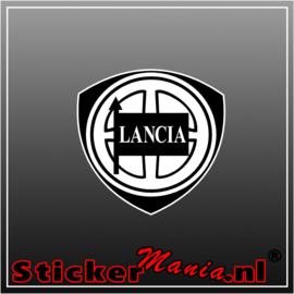 Lancia logo Full Colour sticker