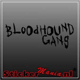 Bloodhound gang sticker