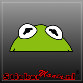 Kermit Full Colour sticker