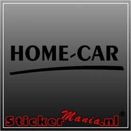 Home car caravan sticker