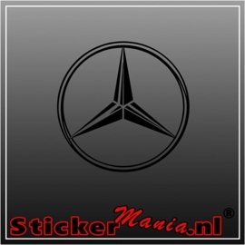 Mercedes ster sticker