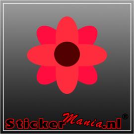 Bloem 4 full colour sticker