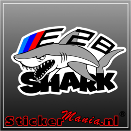 BMW E28 shark full colour sticker
