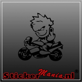 Calvin motor sticker