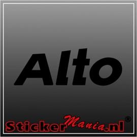 Suzuki alto sticker