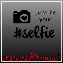 #Selfie sticker
