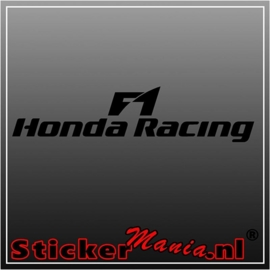 Honda F1 racing sticker