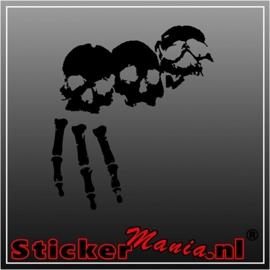 Skull 72 sticker