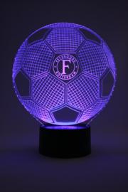 Feyenoord voetbal led lamp