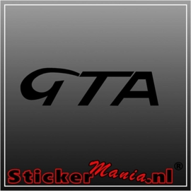 Alfa romeo GTA sticker