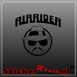 Air rider sticker