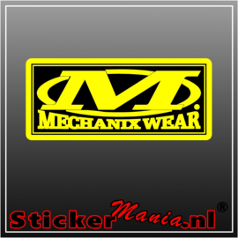 Mechanix wear full colour sticker