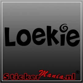 Loekie sticker