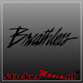 Breathless sticker