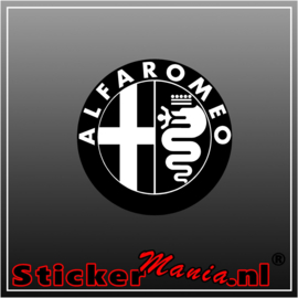 Alfa Romeo Logo 2 Full Colour sticker