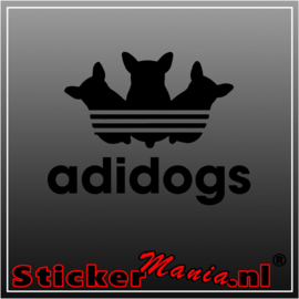Adidogs sticker