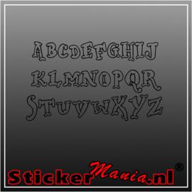 Eigen tekst lettertype Dickwhipped