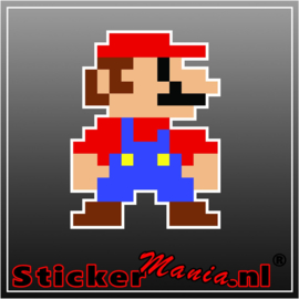 Mario 4 Full Colour sticker
